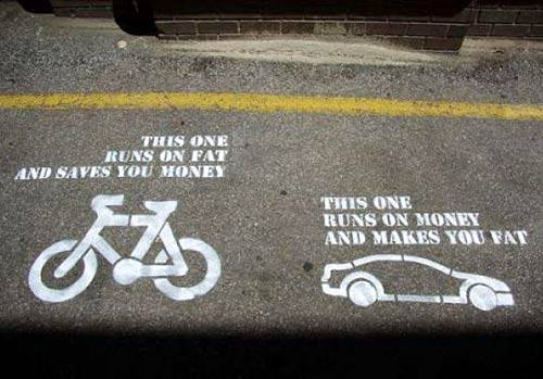 Cycling Saves Money